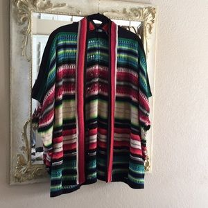 Lauren By Ralph Lauren sweater. Multi color.Sz S/M